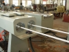 PVC double pipe production line,plastic pipe production line,plastic machine