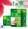 1 day diet Simply obesity, post partum fat