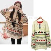 Cute Jumper Sweater Christmas reindeer motif JP162