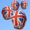 Supply Hot Sale United Kingdom national flag flying lantern