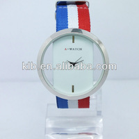 Fashion fabric wrist watch for ladies and men.