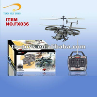 4CH Double Propeller with Gyro Avatar Remote Control Helicopter