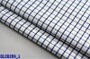 Yarn dyed checked poplin fabric