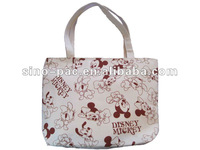 2012 New organic cotton canvas tote bag