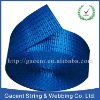Polyester webbing for production of slings