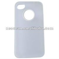 For iphone 4G/4S protctive case(transparent white),accept paypal