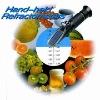 Refractometer (hand held refractometer, brix refractometer)
