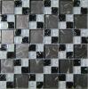 8mm crystal mosaic tile, bathroom glass mosaic tile