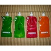 three layer Eco-friendly foldable plastic water bottle