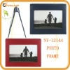 unique design genuine leather photo frame design