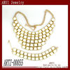2013 fashion jewelry bib necklace alloy jewellery set