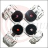 Hot selling For Iphone 4G/4GS Diamond Earphone Jack Dust Cap Plug