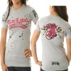 fashion ladies long t-shirt