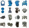 Water Valve body ductile casting iron