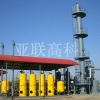 Technology of methane purification through marsh gas decarbonization