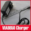 "9V AC Wall Charger Power Adapter For 7"" VIA 8650 Android Tablet PC"