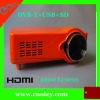 2200 lumens led beamer with HDMI, USB port