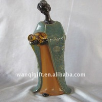 Woman Shape Ceramic Decor