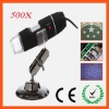 50X-500X Zoom Magnification 2.0Megapixles USB Digital Microscope
