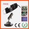 50X-500X Zoom Magnification 2.0Megapixles USB Digital Microscope