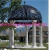 Wrought Iron Garden Gazebo/ Decorative Metal Gazebo