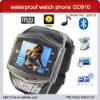waterproof wrist watch phone with key GD910
