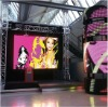 Rental led display with super-thin cabinet