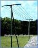Standing steel laundry hanger rack/ clotheshorse LYJ-001