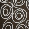 Beauty Interlock Design Embroidery Mesh Fabric