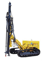 Hole Depth 25m or More Crawler Mounted Down The Hole Drill Rig SMMEY125 KY125 for Quarrying or Mining