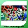 Custom silicone rubber plugs for hole