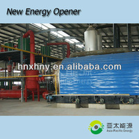 Satisfying after-sale service scrap plastic pyrolysis plant