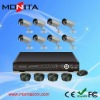 8CH H.264 Economic camera & network DVR Kit