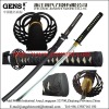 Handmade traditional carbon steel 1045 samurai katana sword with matt black saya JH043BK