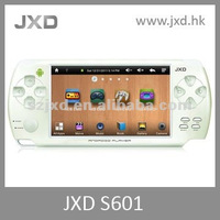 "JXD-S601 newest hot selling simulator android games with 4.3"" resistive touch with wifi function"