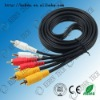 PVC insulated retractable 6 channel rca cable