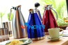 1.0 Litre Stainless Steel Thermos Bottle Vacuum Coffee Maker / Colorful Vacuum Coffee Pot