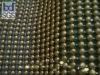 gloden metal beads curtain, gloden metal beaded curtain