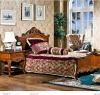 American antique style wooden Children bedroom furniture OMJ-898-03