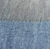6OZ indigo blue cotton twill fabric with warp slub