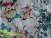 Fancy Printed Fabric/Woven Ramie Cotton Fabric