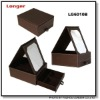 jewelry box with cosmetic mirror