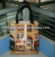 New products printed PU lady handbag