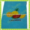 100% cotton velour embroidered kitchen towel embroidery towel factory supplier