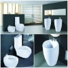 Hot sell! sanitary ware bathroom suits ceramic toilet basin and bidet
