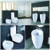 Hot sell! sanitary ware bathroom suits ceramic toilet basin and bidet