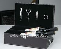 Leather wine box
