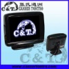 3.5 inch Digital Panel Stand Alone Car Monitor,2 way Video Inputs