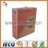 Laminated water proof color printed carton box