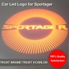 China Factory Auto Led Logo Lights for Sportager